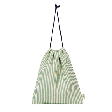 Harbour Stripe Gym Bag in Olive