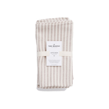 Harbour Stripe Napkin Set of 4 | Luxury Cotton Napkins