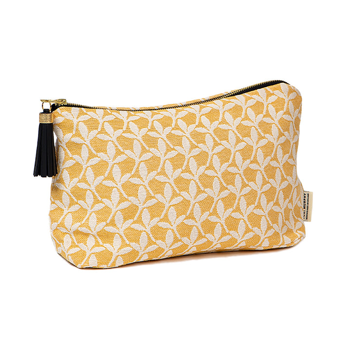 Little Cress Large Wash Bag Mustard