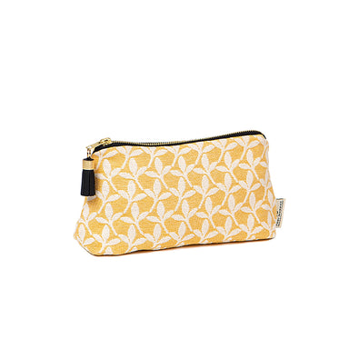 Little Cress Small Wash Bag Mustard