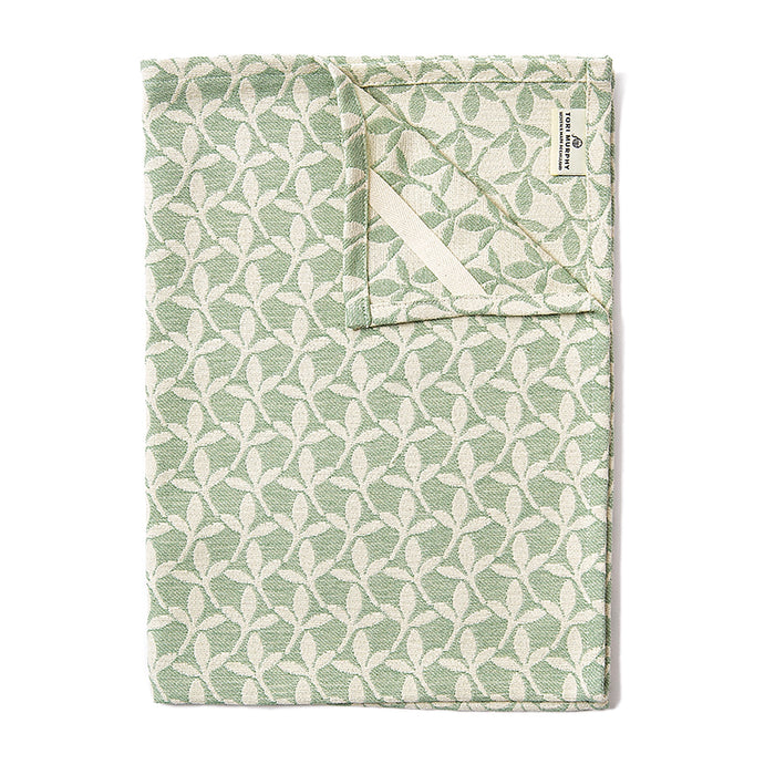 Little Cress Tea Towel Olive