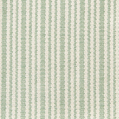 Scallop Stripe Cotton Fabric Olive