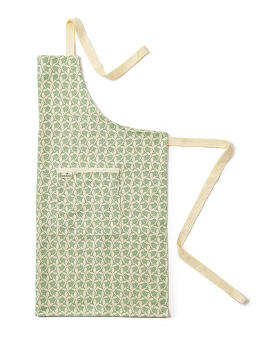 Little Cress Apron Olive
