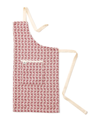 Little Cress Apron Claret