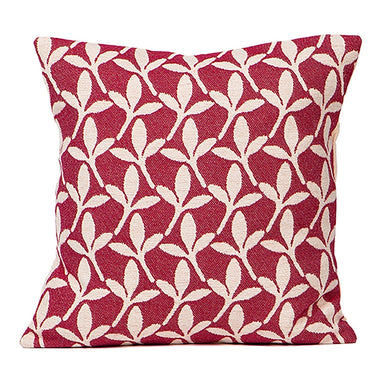 Little Cress Cushion Raspberry