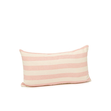 Everyday Stripe Cushion Rose