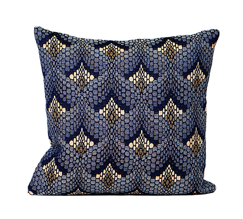 Tapestry Cushion Navy