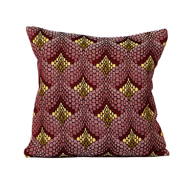 Tapestry Cushion Claret