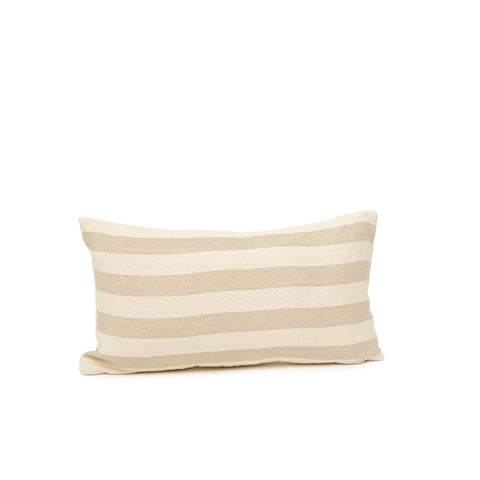 Everyday Stripe Cushion Mushroom