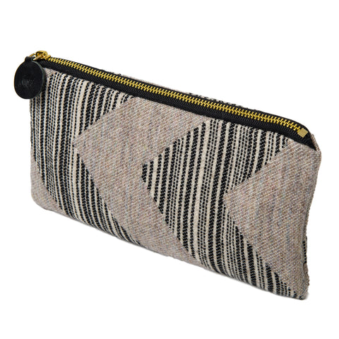 Merino Lambswool Zip Purse - Chevy Strie - Tori Murphy Ltd