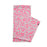 Hamilton Small Spot Reversible Merino Wool Scarf Hot Pink & Grey | Tori Murphy