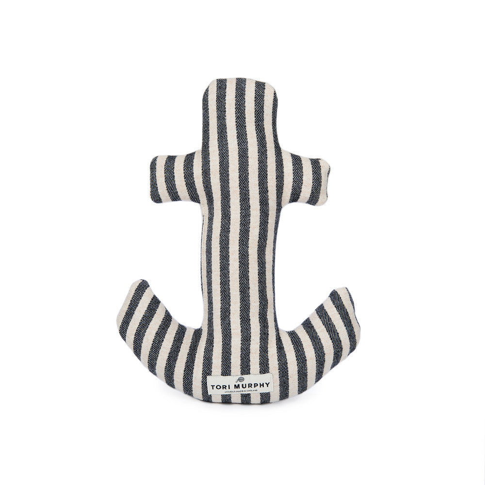 Tinker Anchor Cushion Harbour Stripe | Tori Murphy
