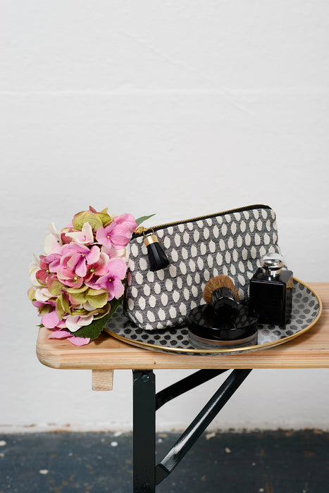 Seedling Small Wash Bag Black