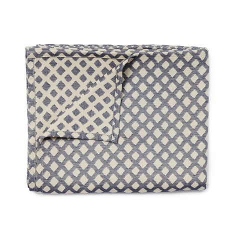 Cadogan Check Table Cloth Navy