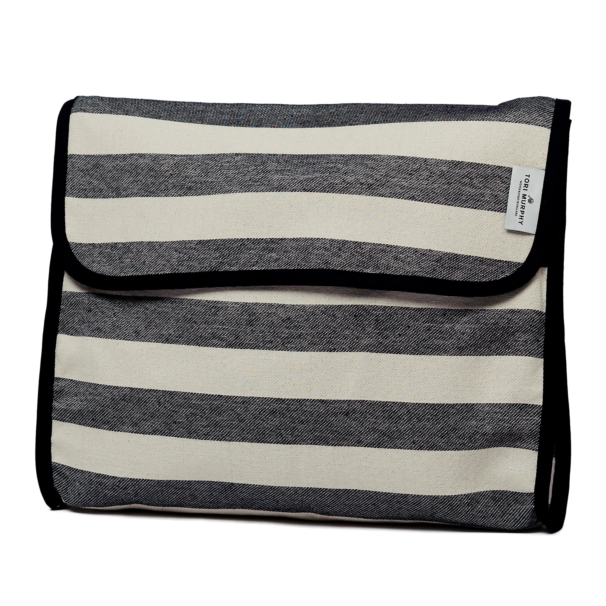 Fastnet Stripe Original Wash Bag Black