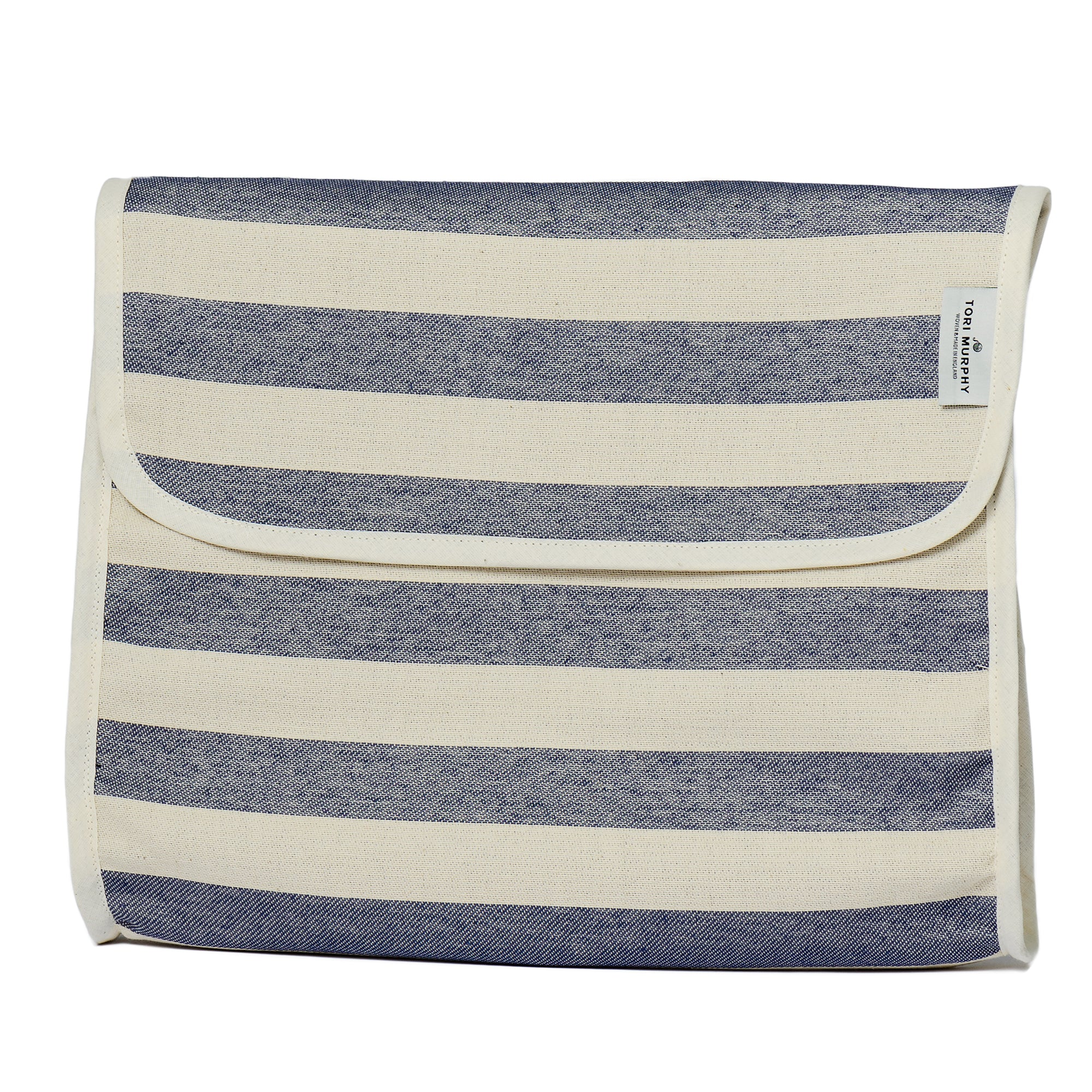 Fastnet Stripe Original Wash Bag Navy
