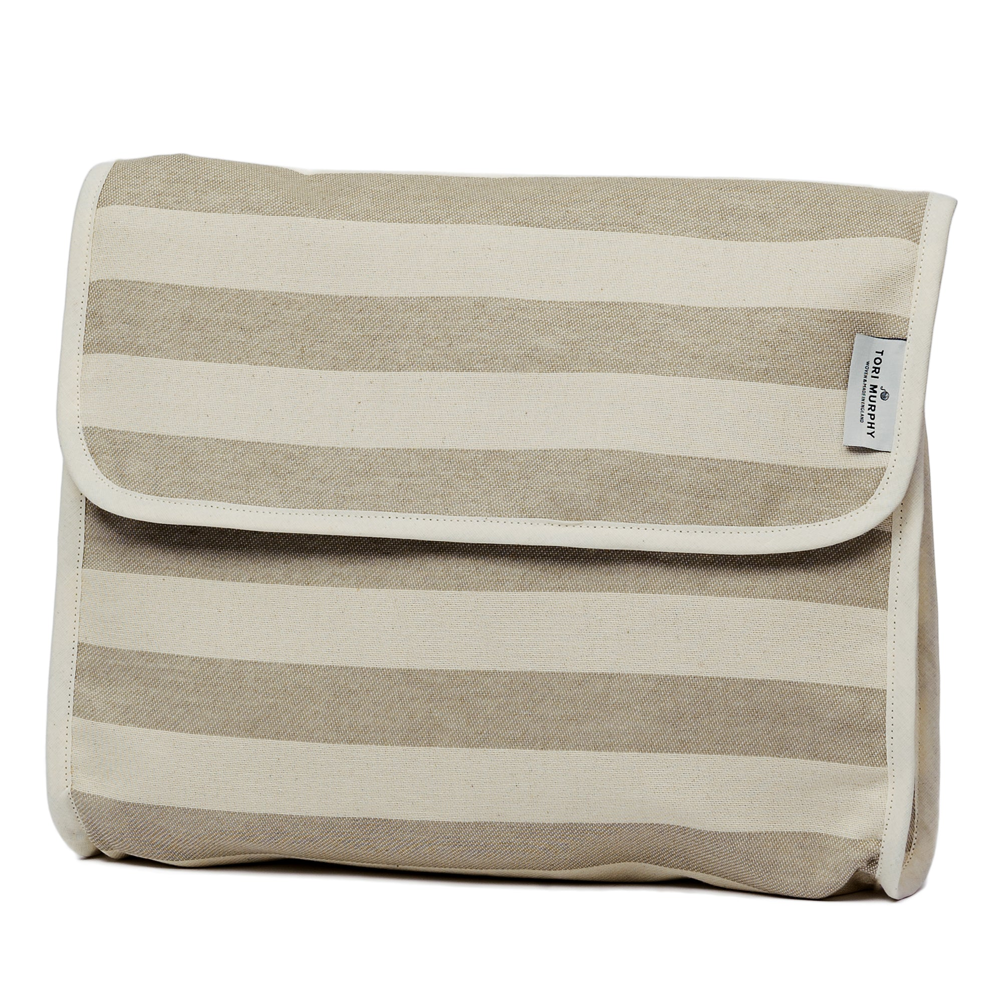 Fastnet Stripe Original Wash Bag Mushroom
