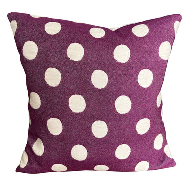 Dotty Spot Cushion Hyacinth