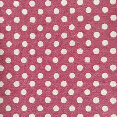 Dotty Spot Cotton Fabric Radish