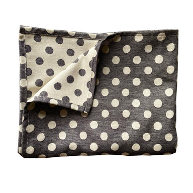 Dotty Spot Table Cloth Black
