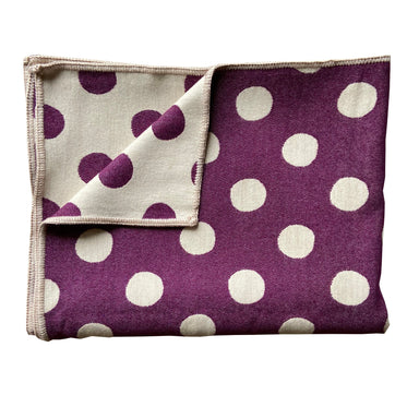 Dotty Spot Throw Hyacinth