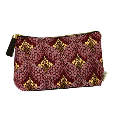 Tapestry Large Wash Bag Claret