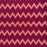 Repton Chevron Cotton Fabric Red