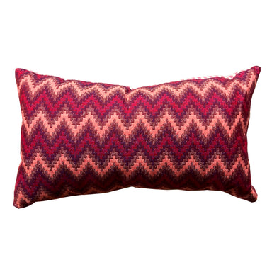 Repton Chevron Sweetie Cushion Red