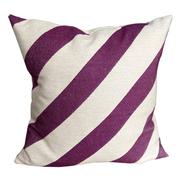 Totto Stripe Cushion Hyacinth