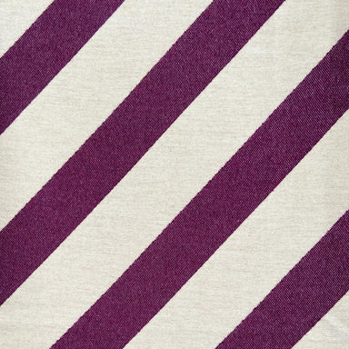 Totto Stripe Wool Fabric Hyacinth