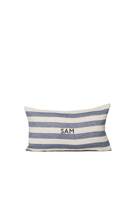 Everyday Stripe Cushion Navy