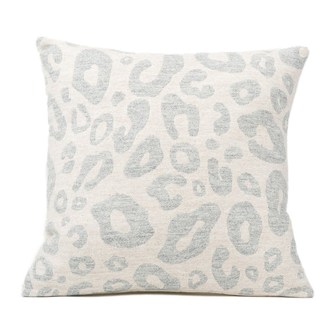 Hamilton Small Spot Cushion Grey on Linen