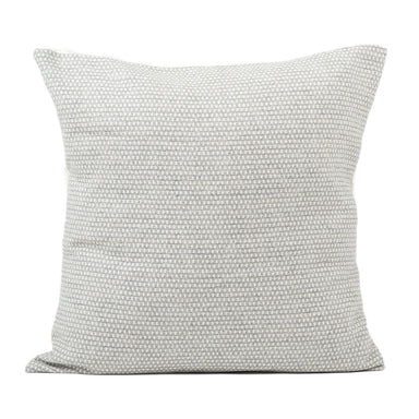 Classic Clarendon Cushion Linen on Grey