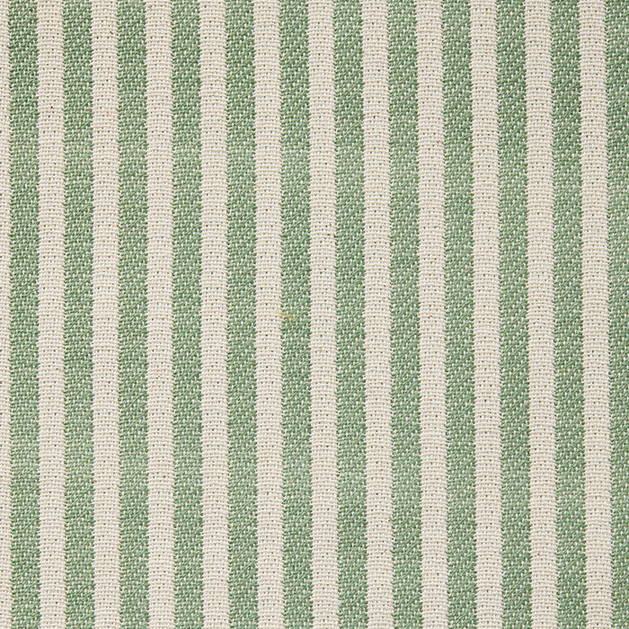 Harbour Stripe Cotton Fabric Olive