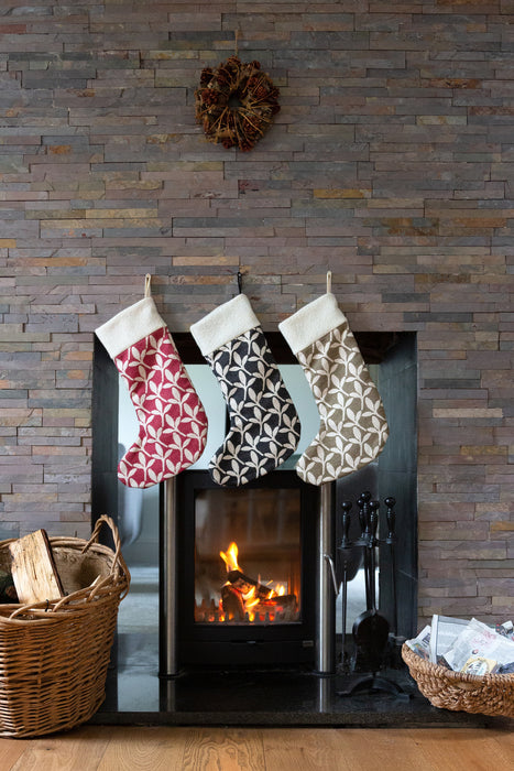 Little Cress Christmas Stocking Raspberry