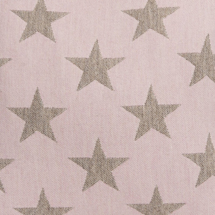 Antares Star Wool Fabric Pink and Mushroom