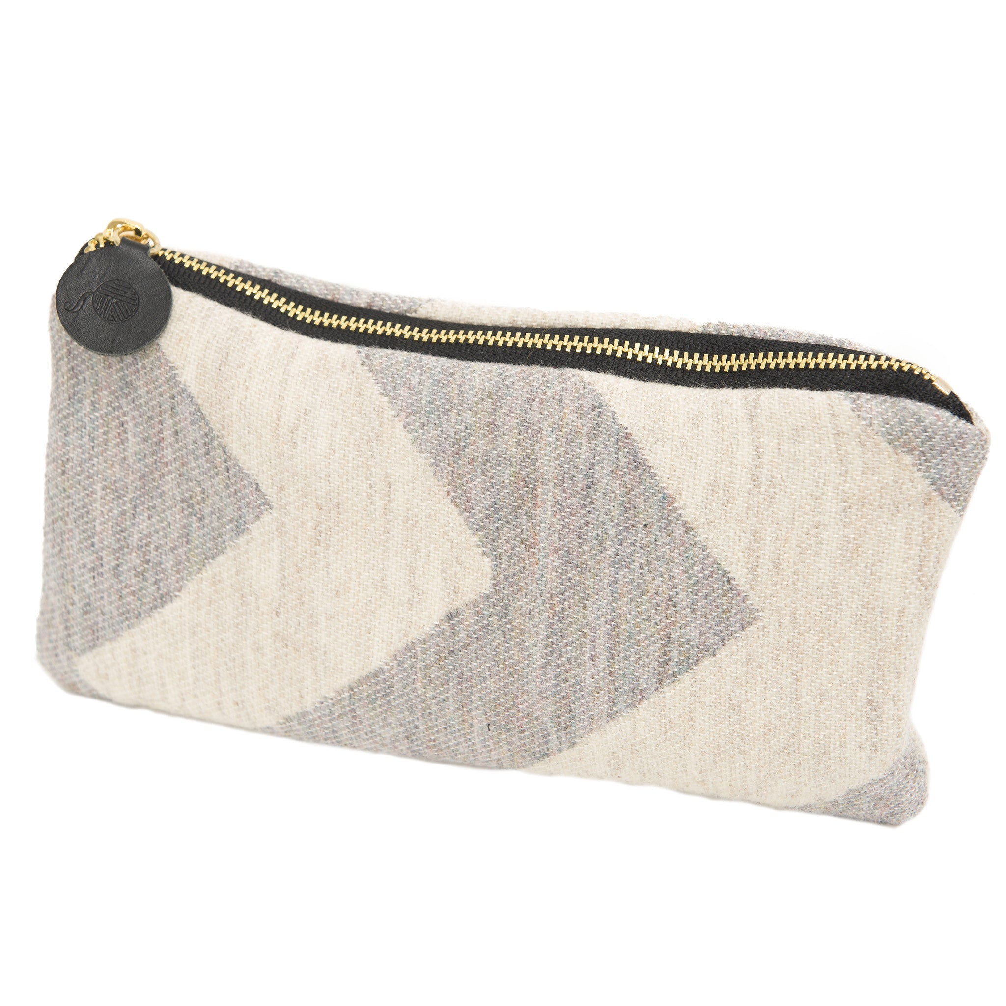 Chevy Zip Purse Pearl/Linen