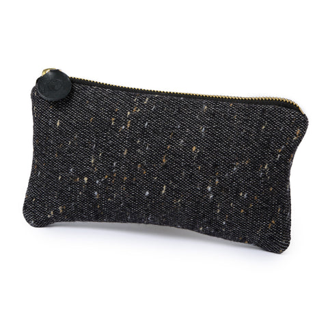 Sandringham Plain Zip Purse Charcoal