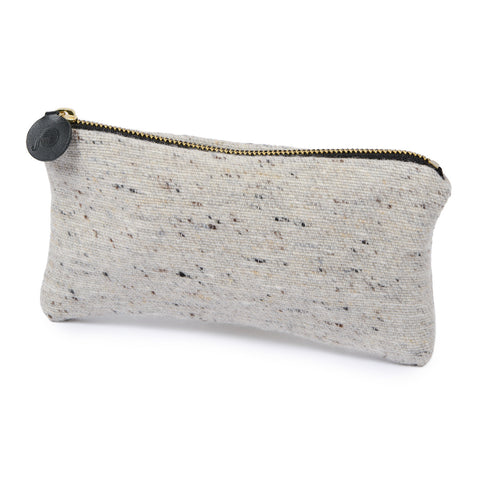 Sandringham Plain Zip Purse Grey