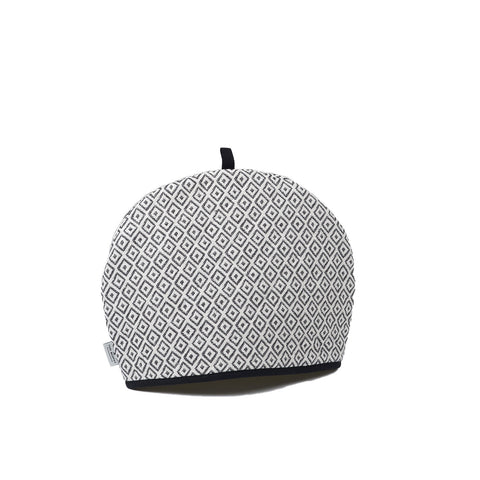 Broadway Tea Cosy Black on Linen
