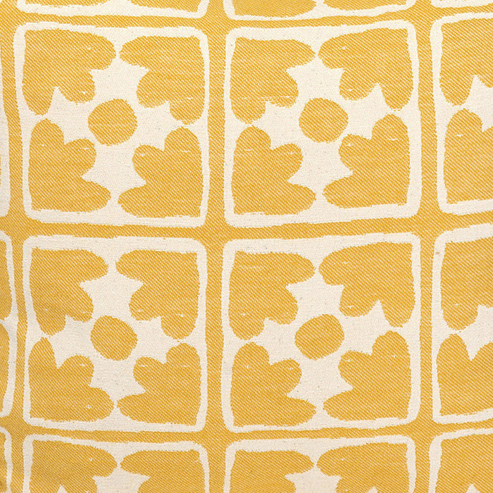 Bloom Cotton Fabric Mustard