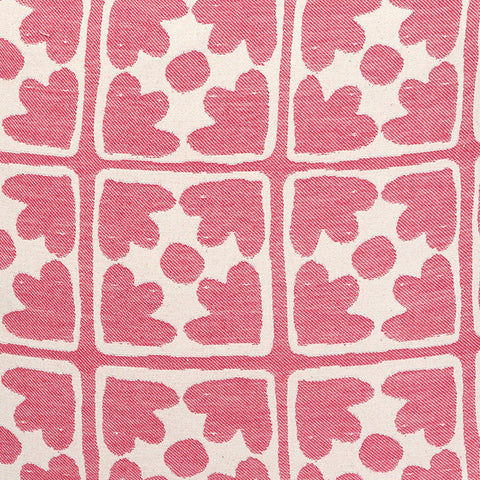Bloom Cotton Fabric Radish