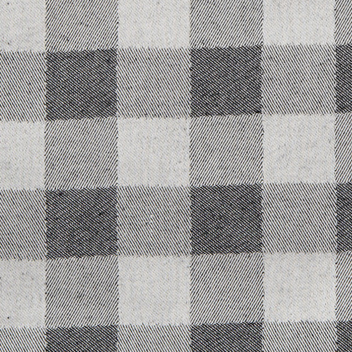 Woodhouse Check Cotton Fabric Black