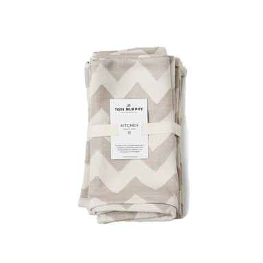 Chevy Napkin set of 2, Fawn/Linen