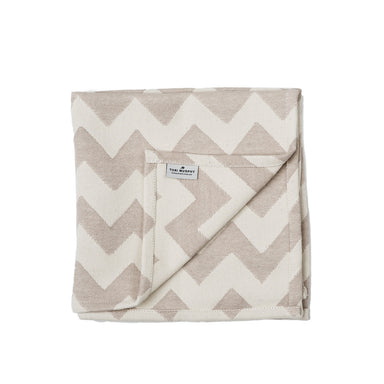 Chevy Napkin set of 4, Fawn/Linen
