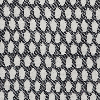Elca Cotton Fabric Black and Linen