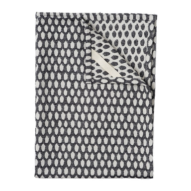 Elca Tea Towel Linen on Black