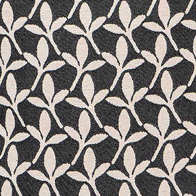Little Cress Wool Fabric Black