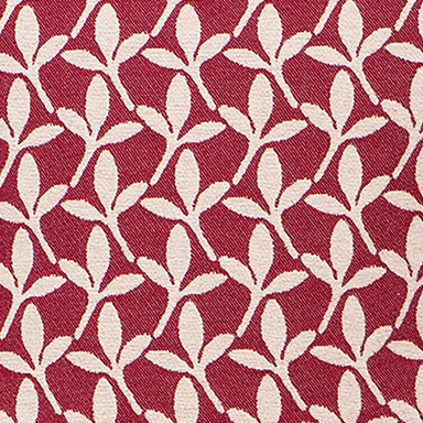 Little Cress Wool Fabric Raspberry