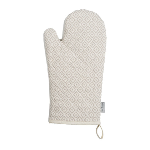 Broadway Oven Glove Fawn on Linen